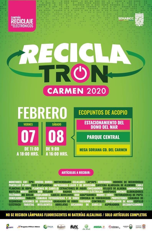 Reciclatron, locales, carmen - Reciclatrón! - locales