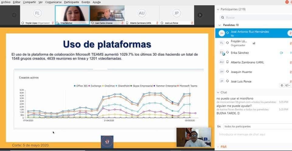 Webinar, unacar, programa, plan, continuidad, carmen - UNACAR presenta su Plan de Continuidad Académica y Administrativa en Webinar de ANUIES-TIC - unacar